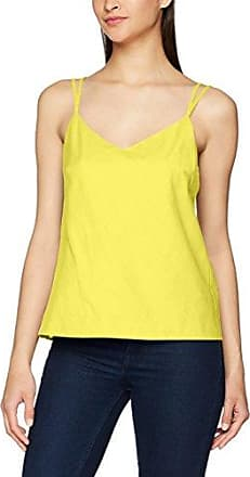Onlmiley S/L Knot Top Ess, Débardeur Femme, Jaune (Mellow Yellow), L (Taille Fabricant: XL)Only