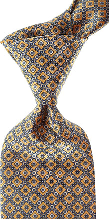 Ties On Sale, Yellow, Silk, 2017, one size Stefano Ricci
