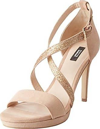 300 Deborah Street - Zapatos de Tacón Mujer, Color Marfil, Talla 40 EU Steffen Schraut