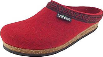 Stegmann 108, Unisex-Erwachsene Pantoffeln, Rot (dark cherry 8820), 42 EU (8 Erwachsene UK)