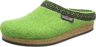 Stegmann 108, Unisex-Erwachsene Pantoffeln, Grün (green 8810), 46 EU (11 Erwachsene UK)