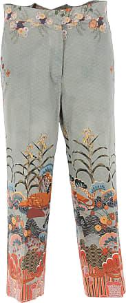 Pants for Women On Sale, Green, Cotton, 2017, 26 30 Stella Jean