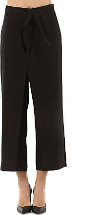 Pants for Women On Sale in Outlet, White, Cotton, 2017, 28 Stella Jean