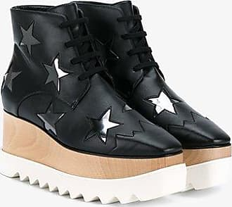 Stella Mccartney Star De Elyse Noir 75 Plateforme Bottines 8XAs5cN