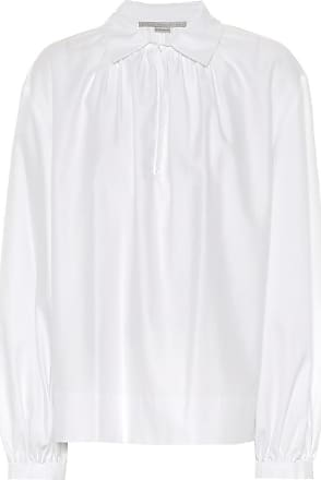 Stella Mccartney Woman Cotton-gauze Top Sand Size 46 Stella McCartney Cheap Visit New New Arrival Cheap Online zw2ltcaAA