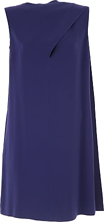 Dress for Women, Evening Cocktail Party On Sale, Blu Navy, Viscose, 2017, 12 14 Stella McCartney
