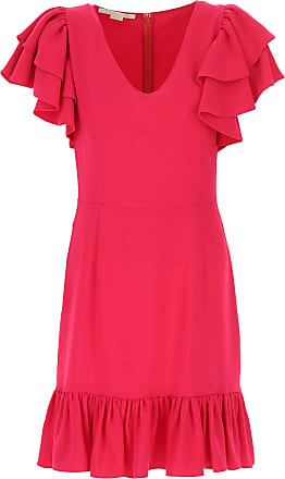 Dress for Women, Evening Cocktail Party On Sale, fucsia, viscosa, 2017, 10 12 8 Stella McCartney