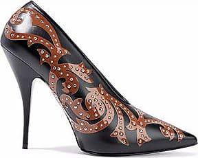 Stella McCartney Woman Iridescent Faux Leather Pumps Fuchsia Size 36.5 S3LOdaK