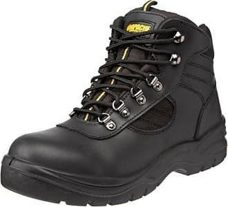 Sterling Safetywear Apache ap302sm size 7, Herren Sicherheitsschuhe, schwarz, 41 EU/7 UK
