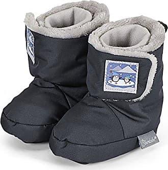 Sterntaler Schuh, Zapatillas Être Une Maison Pour Les Bébés, Gris (basalte 515), 20 I