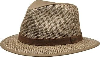 Chapeau Chèque De Coton Seersucker Par Chapeaux Pork Pie Stetson Stetson CStZhOK