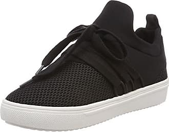 Lancer Sneaker, Baskets Femme, Noir (Black 01001), 37 EUSteve Madden