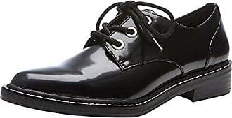 Little, Zapatos de Cordones Brogue para Mujer, Multicolor (Pewter Chrome 001), 39 EU Steve Madden