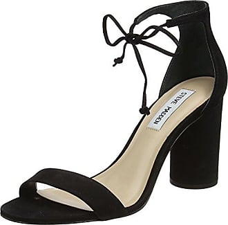 Steve Madden 91000378-0S0, Bout Ouvert Femme - Noir - Noir (Black 01001), 40