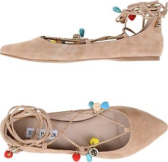 Ballet Flats Ballerina Shoes for Women On Sale, Camel, Leather, 2017, 6 6.5 Bottega Veneta
