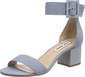 Sandals for Women On Sale, Indigo, Suede leather, 2017, 3.5 5.5 7.5 Steve Madden