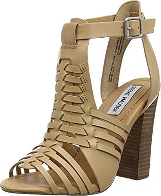 91000381-0S0, Bout Ouvert Femme - Marron - Marron (Taupe 10002), 41Steve Madden