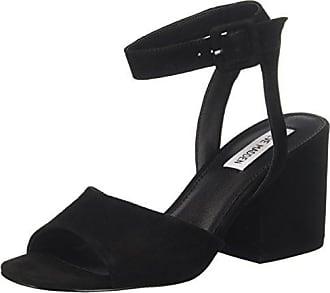 91000339-0S0, Bout Ouvert Femme - Noir - Noir (Black 01001), 39Steve Madden