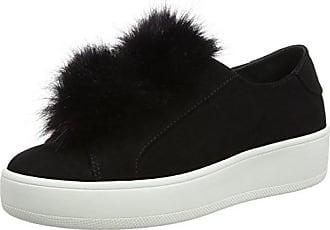 Steve Madden Damen Bryanne Sneakers, Schwarz (Black Micro), 37 EU
