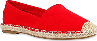 Scarpe Espadrillas 40 117430 Red Flats Pizzo In Rivetti 6WZwSp8S1q