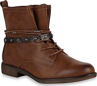Damen Schuhe Schnürstiefeletten Leicht Gefütterte Stiefeletten Metallic 147545 Hellbraun Autol 40 Flandell Stiefelparadies x7rn9qYS