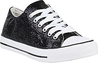 98afe005784c Damen Schuhe Sneakers Low Lack Turnschuhe Plateau Freizeit 155958 Blau 39  Flandell Stiefelparadies Spielraum Beste Geschäft