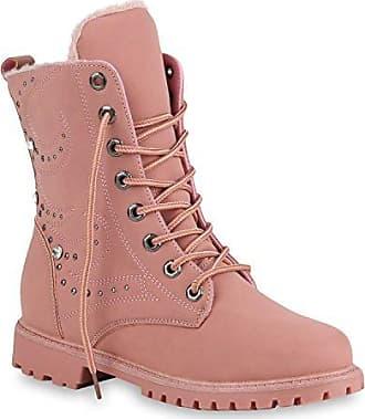 Kinder Stiefelette/Boots/Profilsohle/Outdoor Schuhe/Halbhohe Stiefel/Pink, EU 36