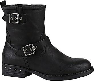 Damen Klassische Stiefel Wildleder-Optik Boots Gefütterte Schuhe 152128 Grau Zipper 39 Flandell plh7tfFcuo