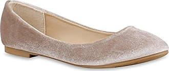 Klassische Damen Ballerinas Flats Leder-Optik Lack Glitzer Schleifen Ballerina Übergrößen Schuhe 141414 Weiss 40 Flandell Stiefelparadies IYuBgxCZ