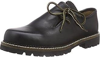 Wolpertinger W07015-1 - Zapatos tradicionales bávaros unisex, color beige, talla 37