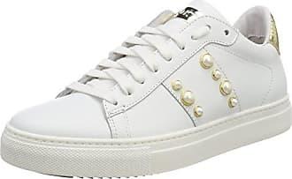 MILLA Footwear women, Synthetic/Mesh, Sneakers Basses femme - noir - Schwarz (1115 BLACK/SILVER), 40 EUKappa