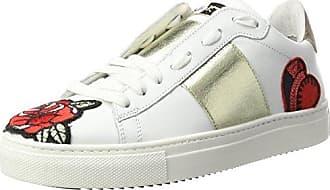 Stokton Sneaker, Zapatillas para Mujer, Blanco (Bianco/Platino), 42 EU