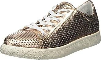 Cream 2 bis Goat Lam, Zapatos con Plataforma para Mujer, Dorado (Metal Fizz Z00), 40 EU Stonefly