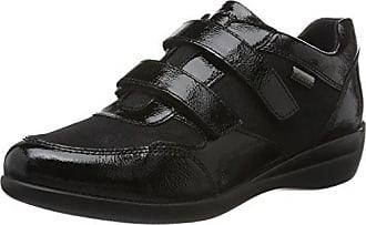 Venus II 83 Velour, Sneaker Donna, Nero (Nero/Black), 39 EU Stonefly