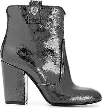 Boots for Women, Booties On Sale, Black, Leather, 2017, 2.5 Strategia