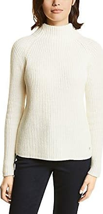 Street One 300502, Jersey para Mujer, Multicolor (Off-White Knit 31128), 46