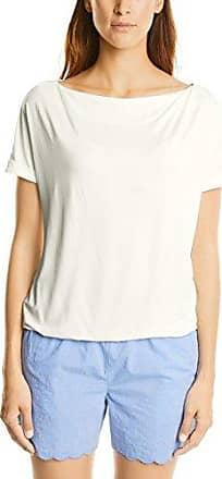 Street One 312263, Camiseta de Manga Larga para Mujer, Blanco (White 10000), 42(Talla del Fabricante: 40)