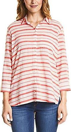 Street One 340953, Blusa para Mujer, Multicolor (White 30000), 44 (Talla del Fabricante: 42)