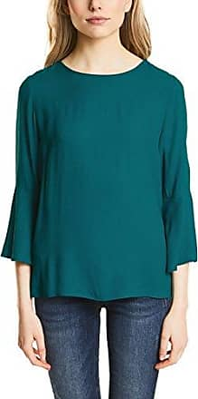 Street One 312291, Camiseta para Mujer, Multicolor (Chilled Green 21348), 40 (Talla del Fabricante: 38)