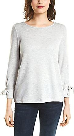 Street One 300327 Robby, Jersey para Mujer, Gris (Cyber Grey Melange 10767), 46 (Talla del Fabricante: 44)
