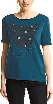 Street One 311907 Gunja, Camiseta para Mujer, Verde (Teal Green 11270), 40