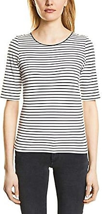 Street One 311921, Camiseta para Mujer, Multicolor (Off White 20108), 38