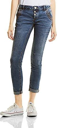 Womens Mw Denim-york, Slimfit, Slim Emb Une Rue