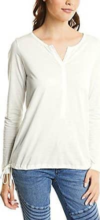 Street One 312303, Camiseta sin Mangas para Mujer, Multicolor (White 20000), 40 (Talla del Fabricante: 38)