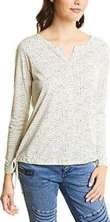 Street One QR Moni, Camiseta para Mujer, Weiß (Off White 20108), 40 (Talla del Fabricante: 38)