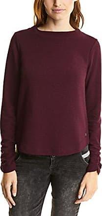 Street One 311384 Gunja, Camiseta de Manga Larga para Mujer, Morado (Master Wine 11018), 40 (Talla del Fabricante: 38)