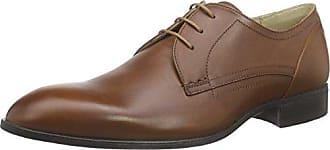 Strellson New Harley, Zapatos de Cordones Derby para Hombre, Marrón-Braun (700), 42 EU