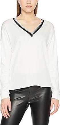 Pullover, Pull Femme, Multicolore (Black/Cream 901), 40Strenesse