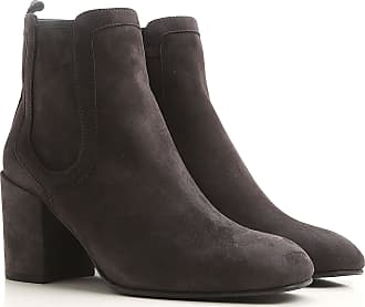 Boots for Women, Booties On Sale, nutmeg, Suede leather, 2017, US 7 (EU 37.5) Stuart Weitzman