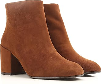 Boots for Women, Booties On Sale, walnut, suede, 2017, 4 4.5 6 7.5 Stuart Weitzman